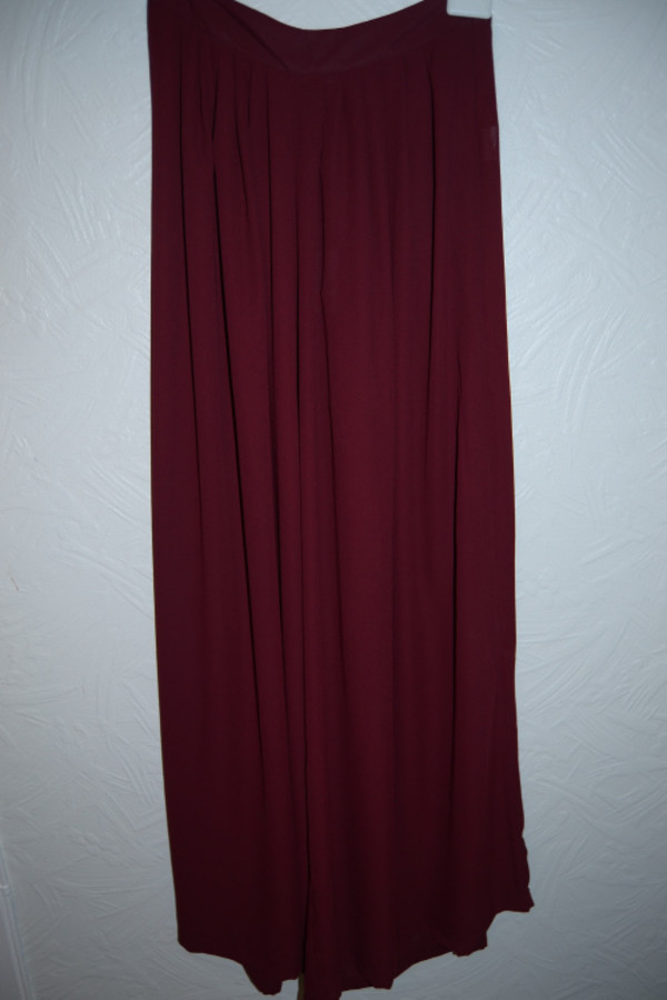 skirt red pretty long skirt maxi skirt