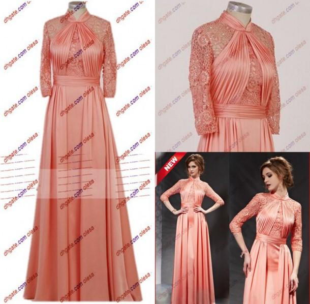 Long evening lace dresses uk