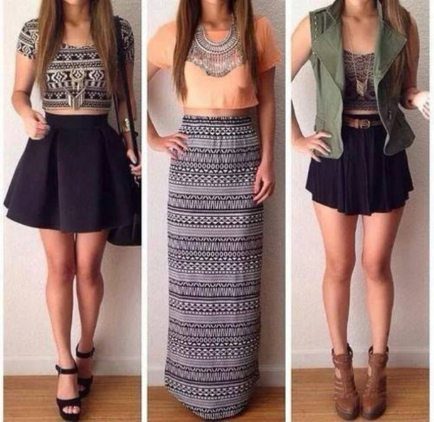 High top skirt outfits – Modern skirts blog for you