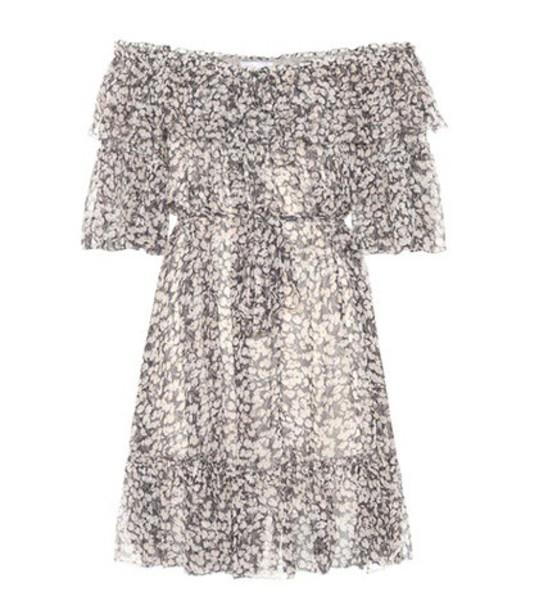 Zimmermann dress silk dress silk grey