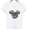 Mickey floral tshirt