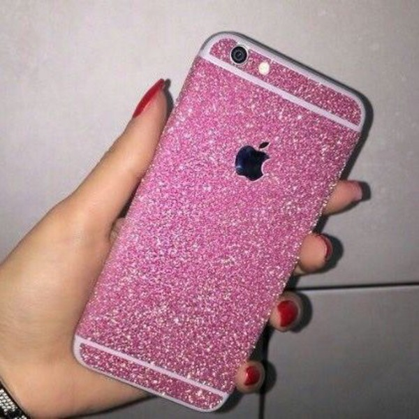phone cover iphone 6 case newcrystalwaveiphonecase newcrystalwavebling newcrystalwave pink glitter