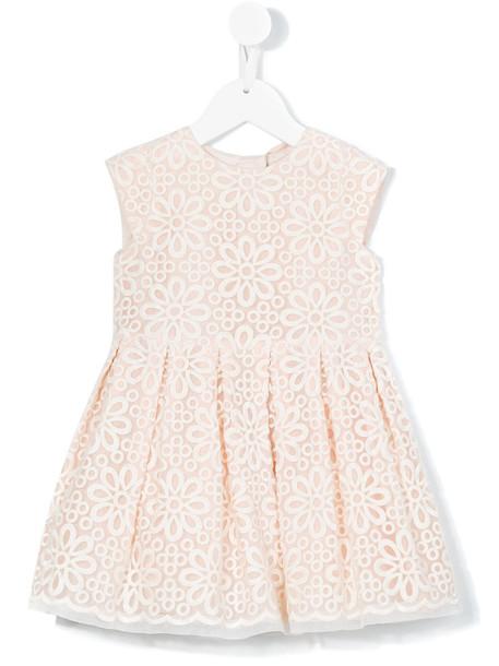 Hucklebones London dress nude cotton