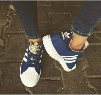 shoes adidas blue shoes