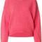 Tibi - shetland oversized pullover - women - wool - m, pink/purple, wool