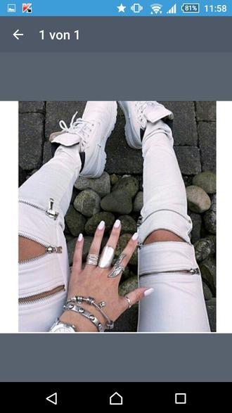 pants white white pants