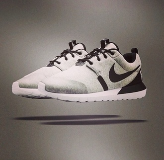 shoes nike running shoes nike shoes nike sneakers roshe runs black grey gray