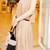 Layered Gauze Skirt - Nude