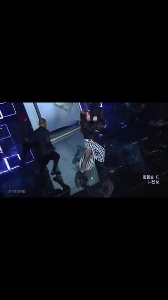 pants boa harem pants black and white trendy cute funny dance
