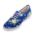 Vans VN-0QES65N Adult Lo Pro Authentic Floral Blue.
