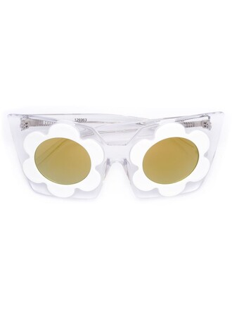 women sunglasses white