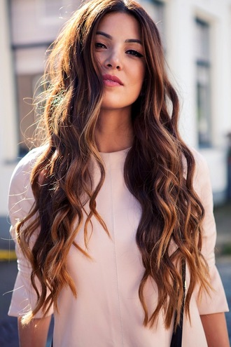 le fashion blogger brunette hairstyles