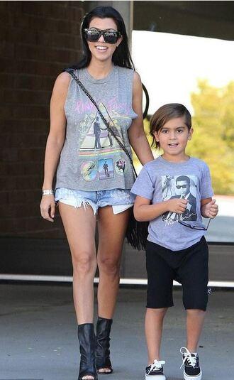 top kourtney kardashian booties shoes
