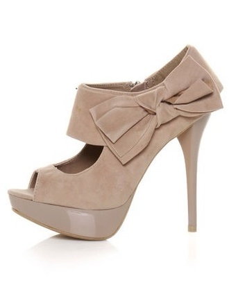 shoes nude heel pumps stilettos peep toe