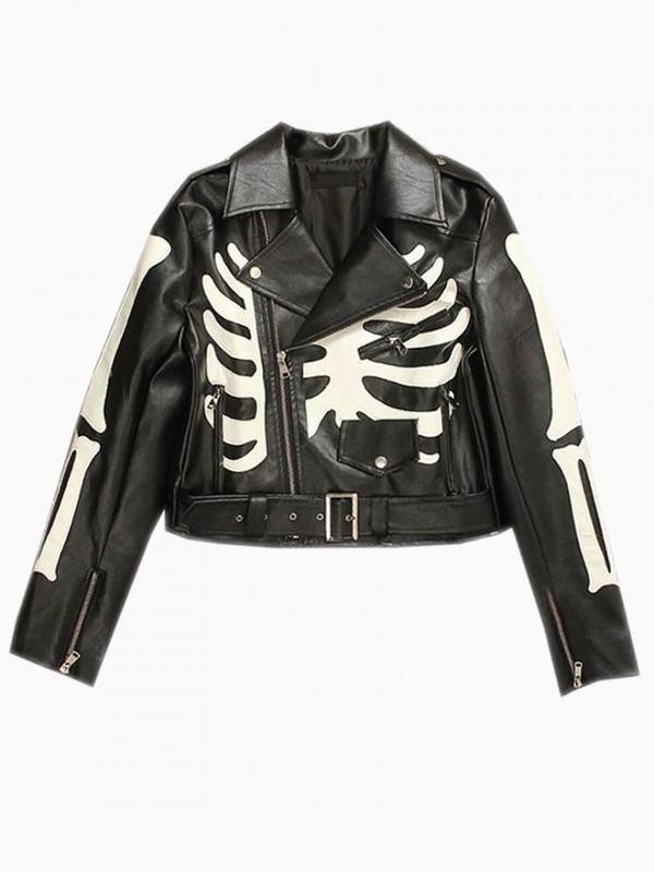 jacket Choies streetstyle biker jacket goth
