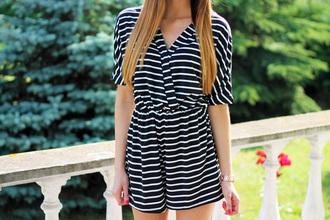 jumpsuit slim shady slit plunge v neck v neck deep v neck dress striped sweater striped shirt black jumpsuit