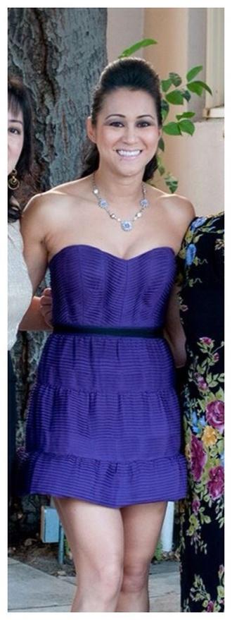 dress fashion wedding dress short dress purple dress formal dress trendy party dress tube dress