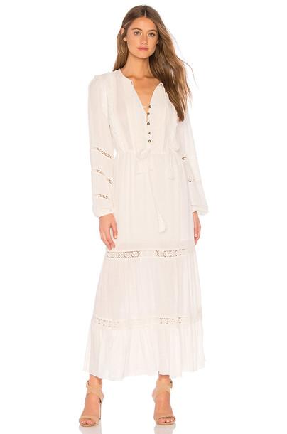 Cleobella Abella Maxi Dress in ivory