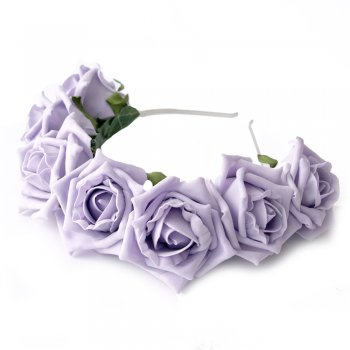 Crown and glory whole lotta rosie crown in lilac