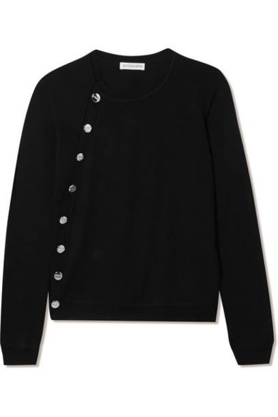 Altuzarra sweater wool sweater black wool