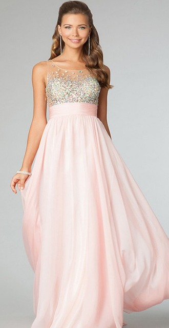dress pink dress rhinestones