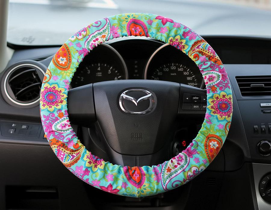 Bow Wheel Car Accessories  Interior Car Accessories For Girls