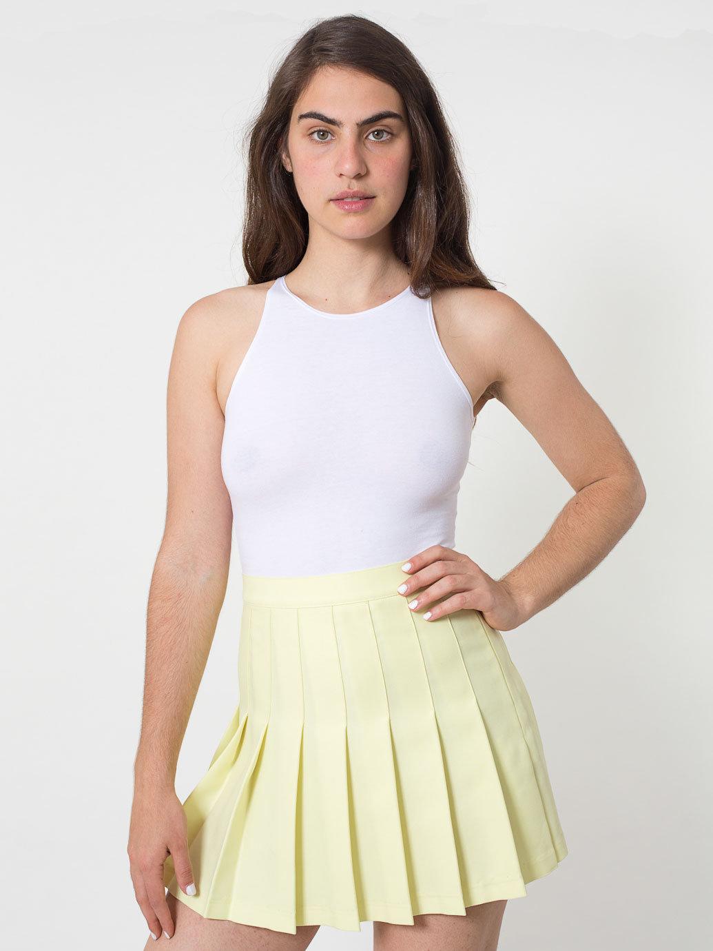 Tennis Skirt | American Apparel