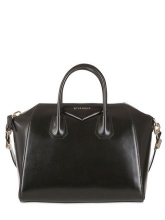 leather black bag givenchy