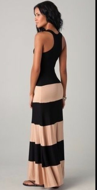 dress maxi dress striped dress summer dress