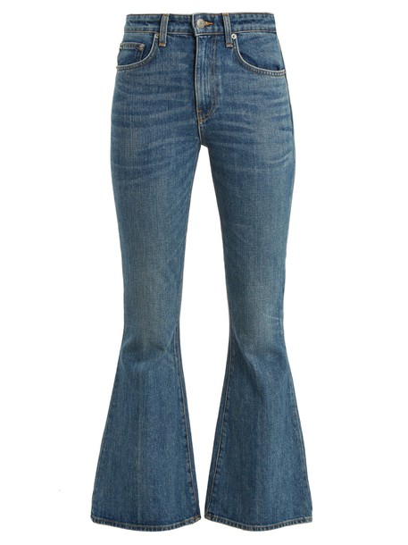 Brock Collection jeans cropped jeans cropped blue