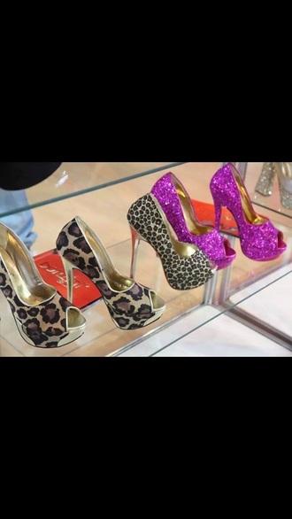 shoes purple silver fancy style stilettos pumps fashion love