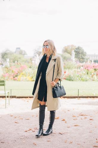 damsel in dior blogger scarf