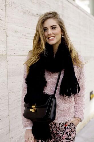 the blonde salad pants sweater jewels sunglasses bag