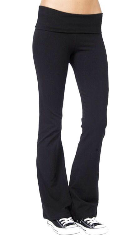 So Low Sexy Black Designer Yoga Pants | eBay