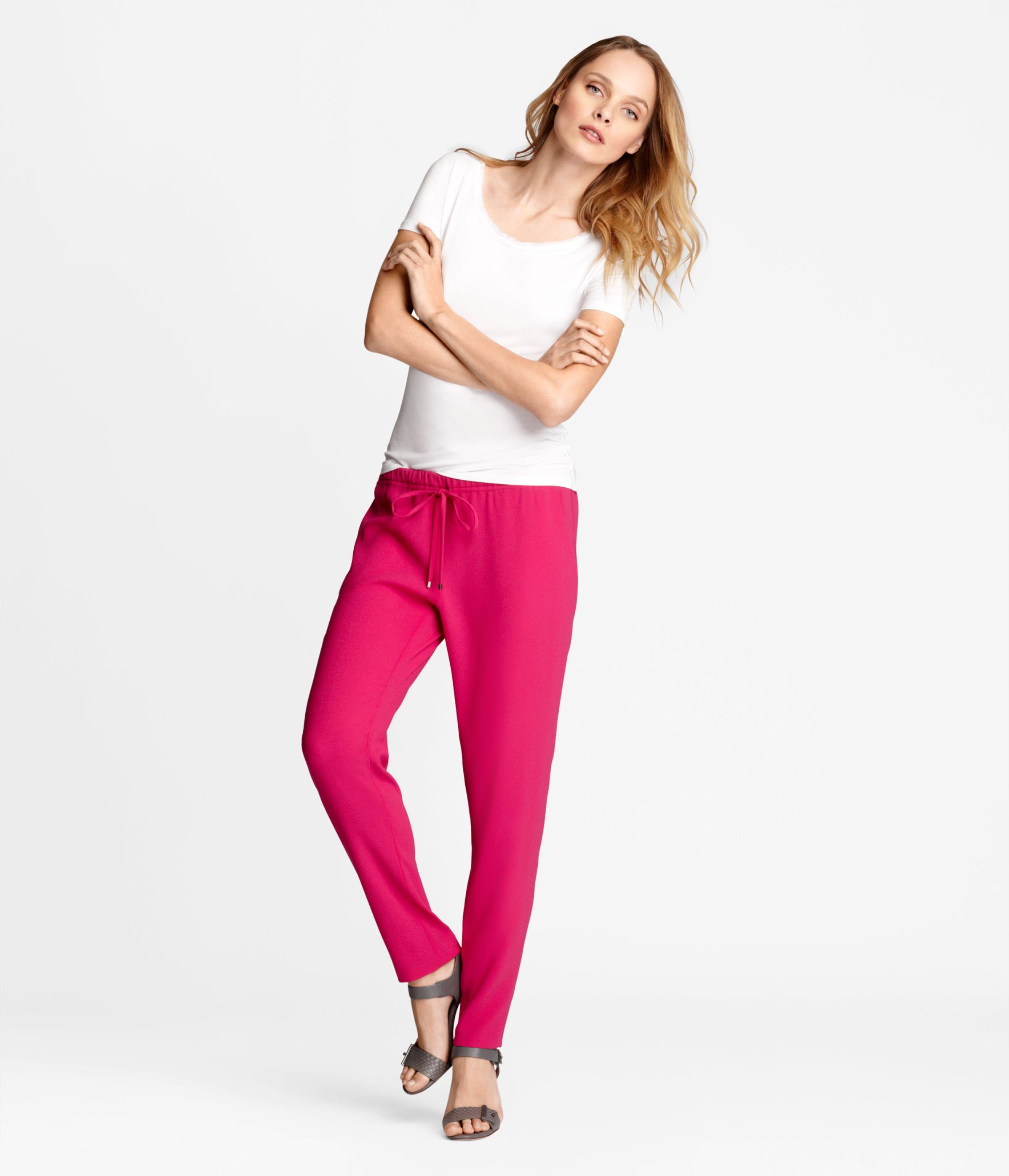 Emmy Pant Motion Magenta | Women's Pants & Shorts | Elie Tahari