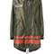 Mr & mrs italy - metallic mid parka - women - cotton/polyester/glass - s, green, cotton/polyester/glass