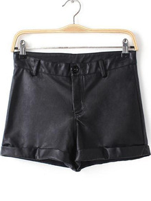 Leather/PU Pants Online Sale,Buy at Sheinside.com