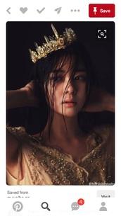 hair accessory,crown,gold,gems,jewels,head jewels,crystal quartz
