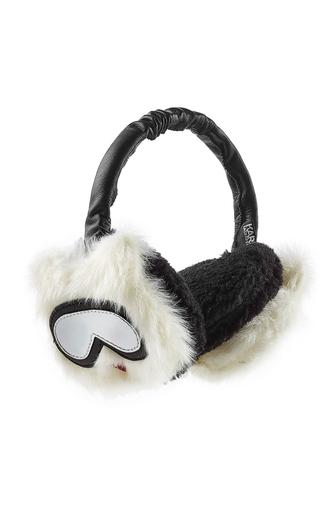 hat ear cuff winter outfits faux fur