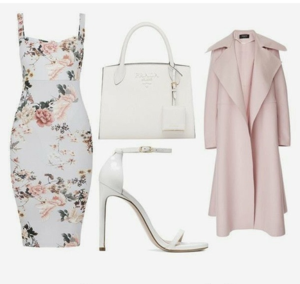 dress floral summer