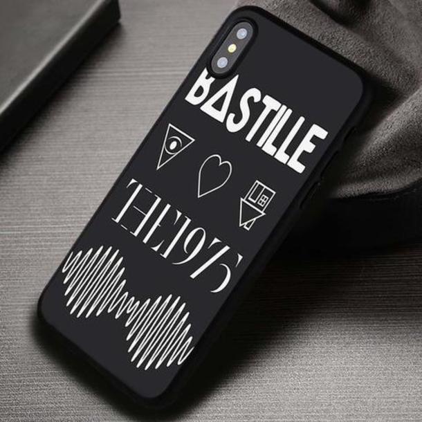 The 1975 Black iphone case