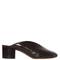 Measha cracked-leather mules