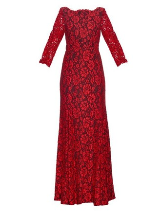 gown red dress