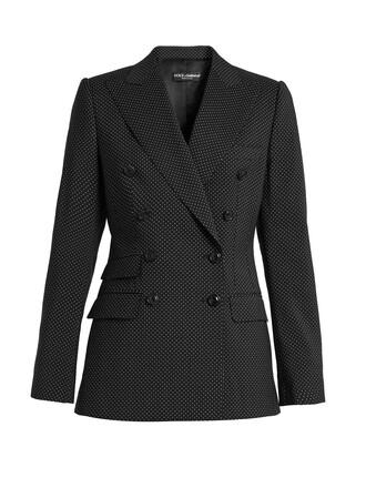 jacket wool jacket print wool black