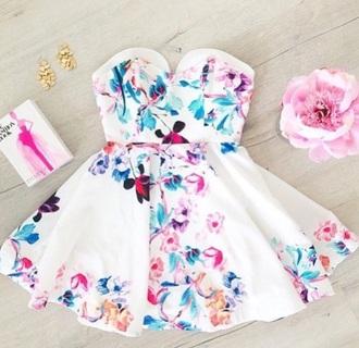 dress fashion fun dresses short dress short party dresses floral dress cute dress strapless dress
