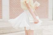 skirt,skater skirt,white skirt,cute,sweet,feminine,white,lolita,hime gyaru,himekaji,girly,summer,kawaii,pretty,date outfit,elegant,ruffle,frilly