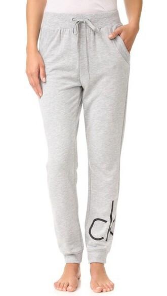 pants pj pants grey