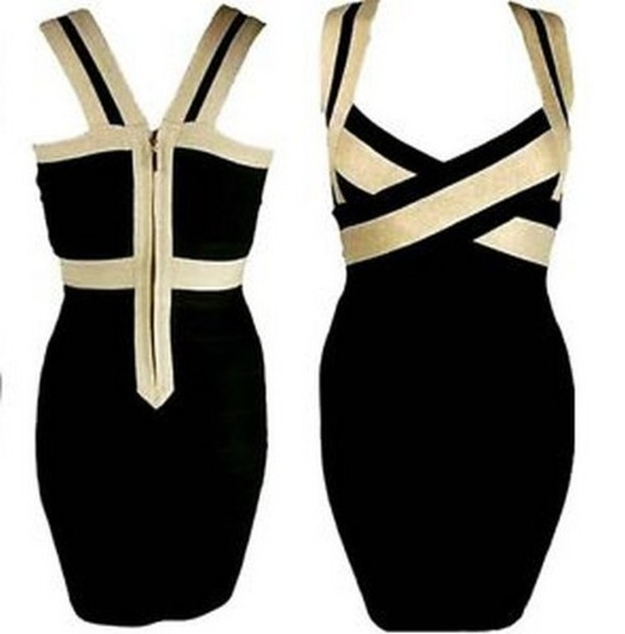 dress bodycon little black dress bodycon dresses gold party party dress clothes