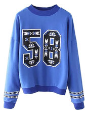sweater,sale,o-neck,buy,best,present,brenda-shop,sweatshirt,number,number print sweater,blue,ribbed,spring outfits,winter outfits,fall outfits,long sleeves,cool,cheap sweaters,cute,cute outfits,teenagers,clothes