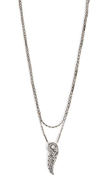 Lulu Frost layered necklace pendant silver jewels